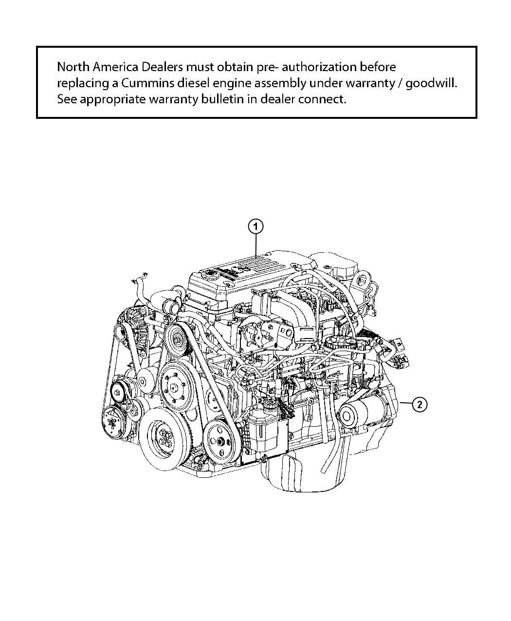 2012 Dodge Ram 3500 Engine  Complete  Remanufactured