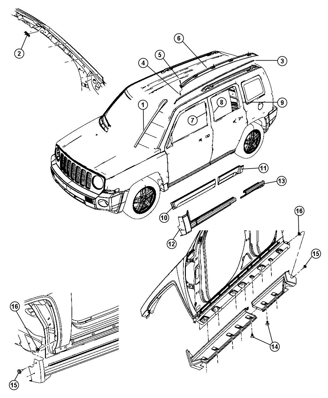 Chrysler Parts Mileoneparts Com Html on 2006 Hummer H3 Suspension Diagram