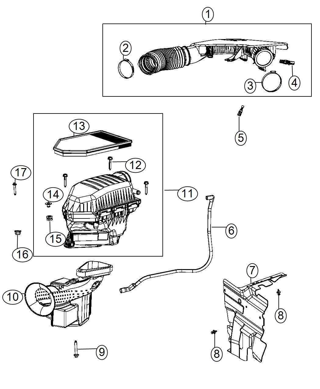 Dodge Charger Shield  Air Intake