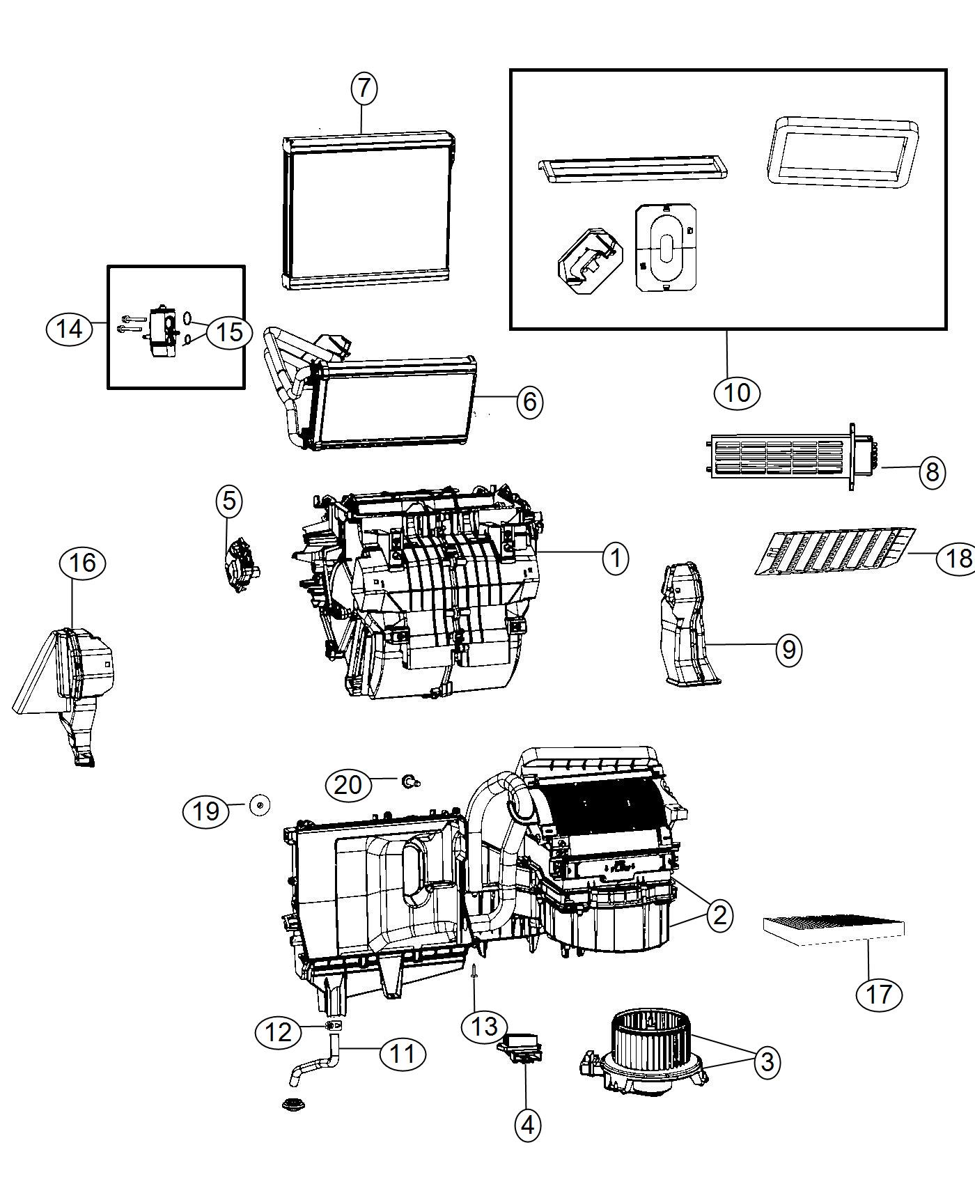 97 Dodge Ram Hvac Diagram
