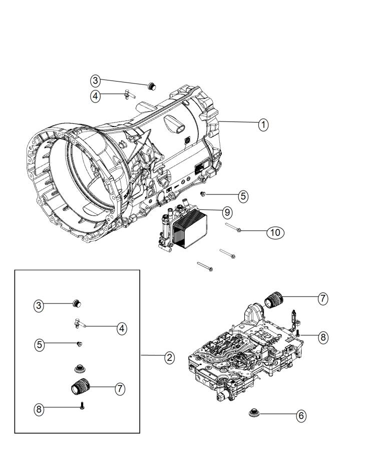 Ram 1500 Heater  Transmission  Includes Tubes And O Rings