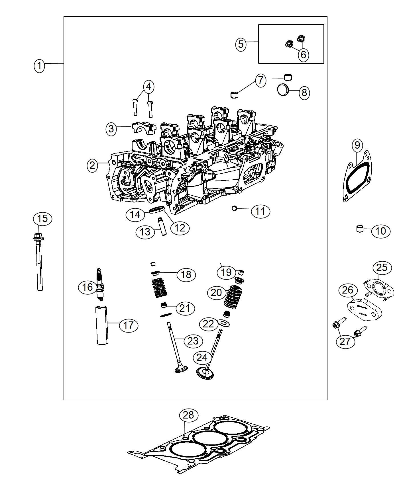 2017    Jeep    Grand    Cherokee    Spark    plug    Capacitor  SP225755AA   Factory Chrysler Parts  Bartow Fl