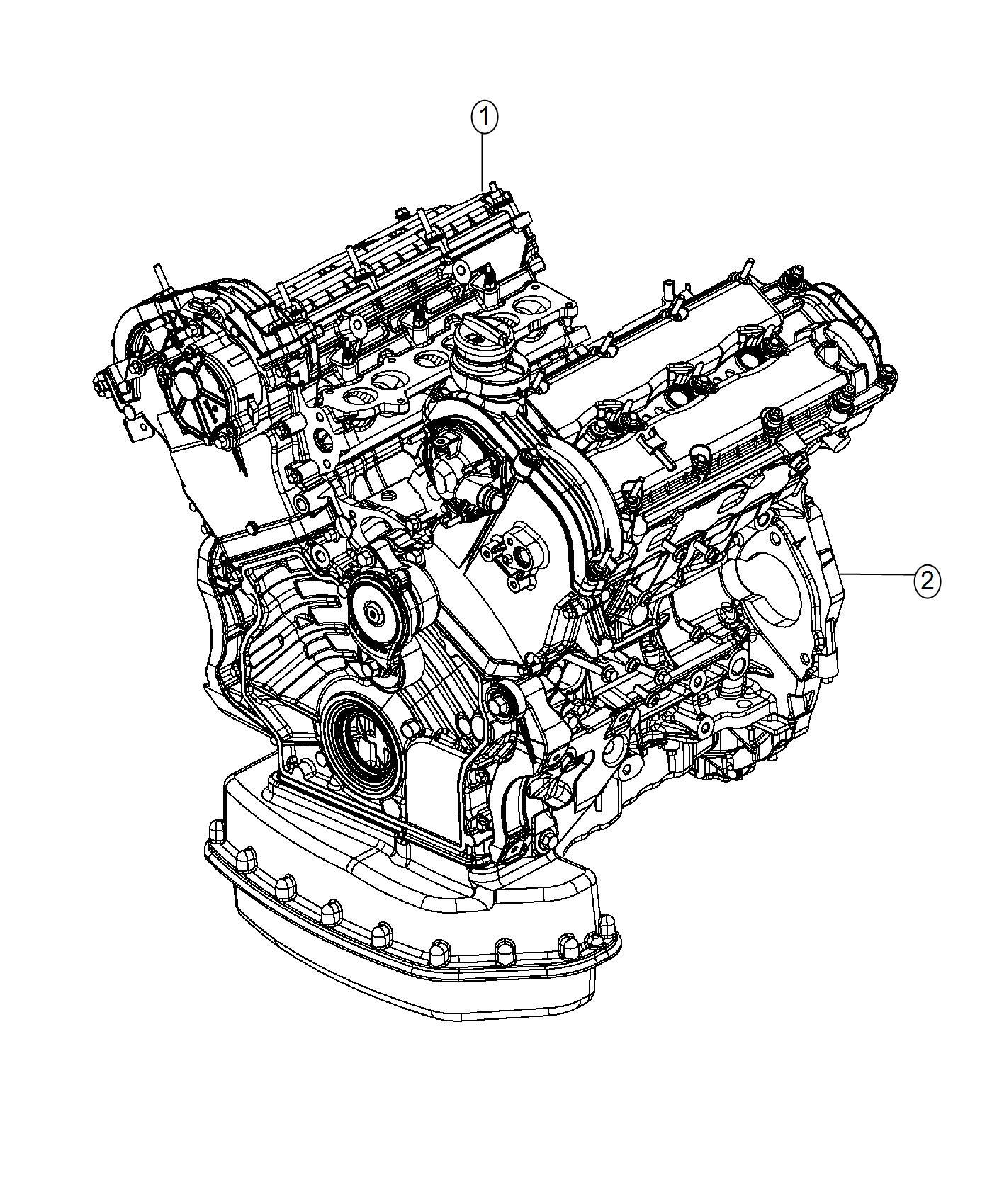 2017 Ram 1500 Engine  Complete