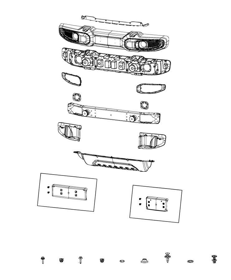 Jeep Wrangler Beam  Front Bumper