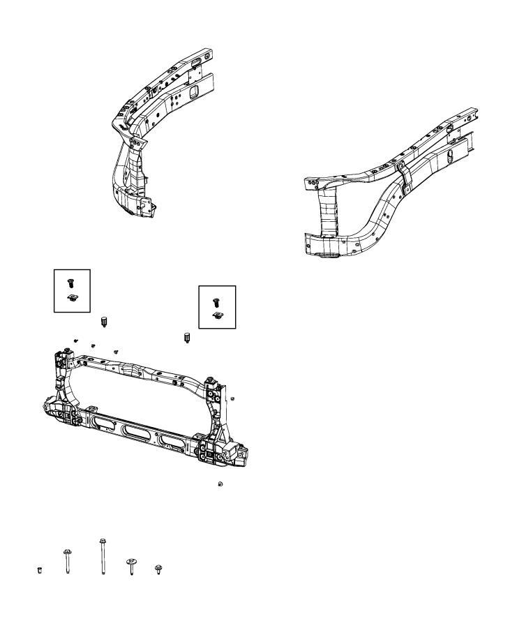 Ram 1500 Panel  Radiator Closure