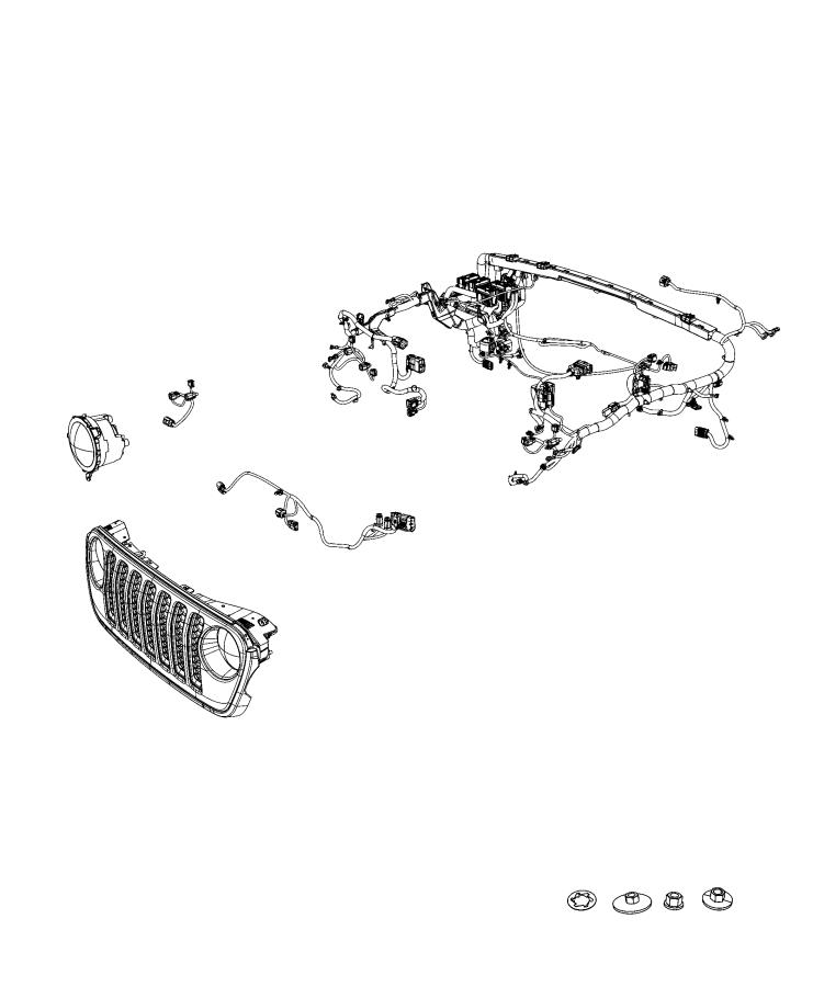 2020 Jeep Wrangler Wiring  Dash