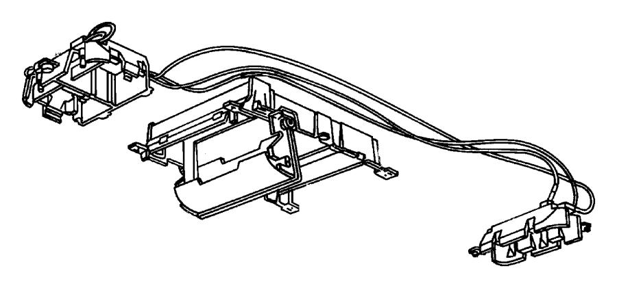 1994 jeep wiring  overhead console  trim    o0