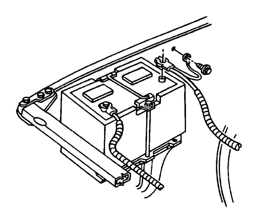 1998 Dodge Ram 2500 Wiring  Battery Positive