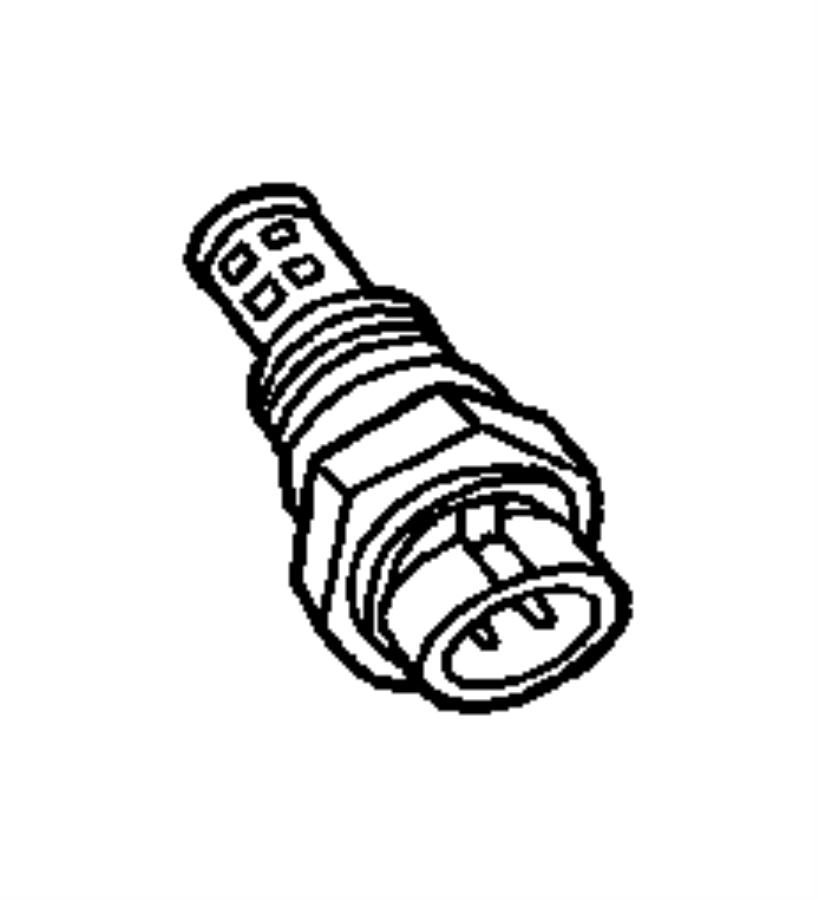 2002 dodge ram 1500 sensor  coolant temperature  2 5l  u0026 4 0l engine  with s  c  upgraded