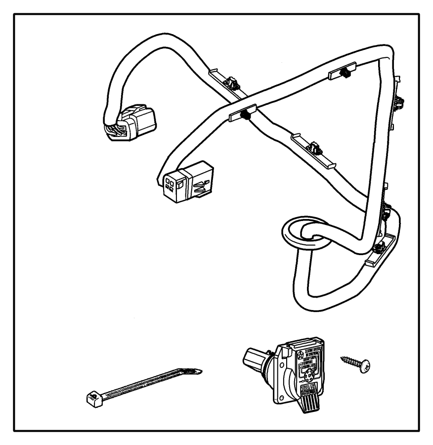 2016 Dodge Grand Caravan Wiring Trailer Tow Directly