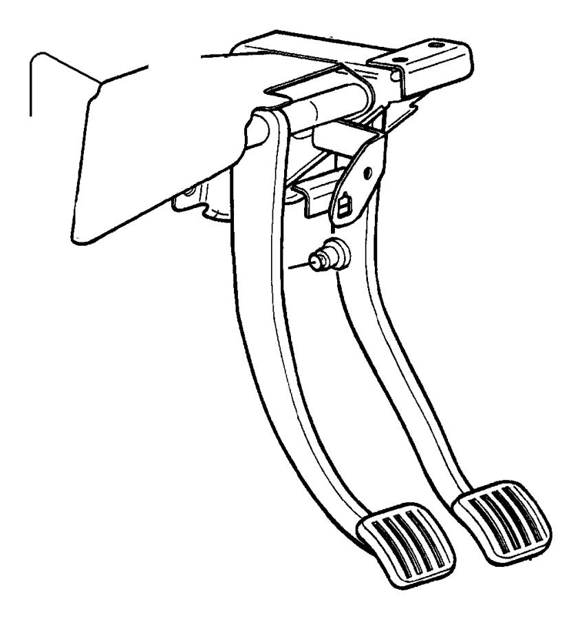 dodge ram 2500 pad  automatic transmission  brake pedal  pedal  dba  nhn  xamxap