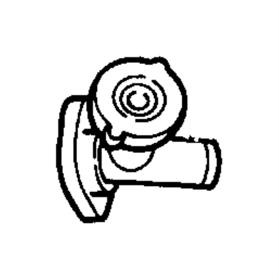chrysler sebring connector  engine coolant outlet  smpiengine