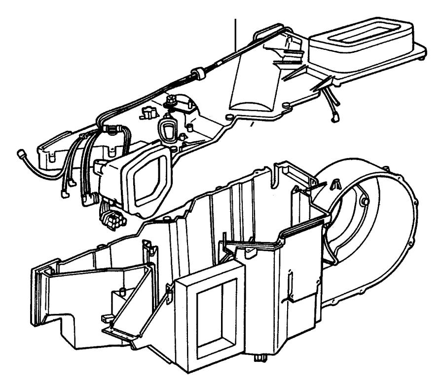 2004 chrysler sebring resistor  blower motor