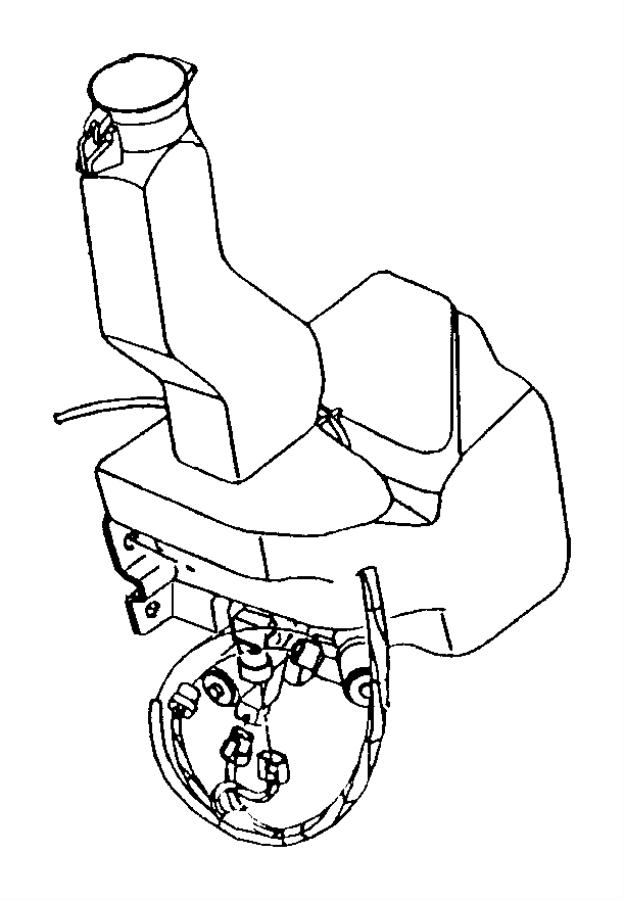 1998 dodge ram 1500 sensor  washer fluid level  wtires