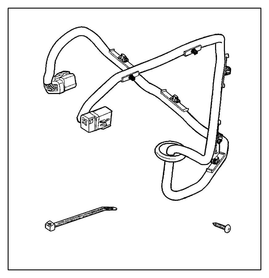 dodge ram 1500 wiring kit  trailer tow