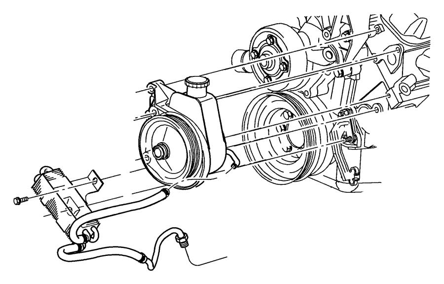 Dodge Durango Cooler  Power Steering  Hosespower  Steeringheavy  Pinioncooler