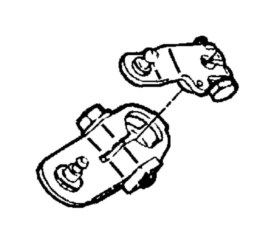 52079065 Dodge Lever Throttle Valve Lever T V