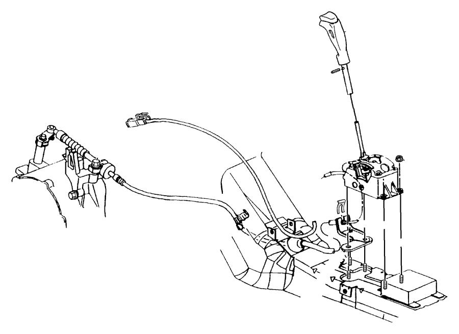 Chrysler Sebring Shifter  Transmission  Autostick