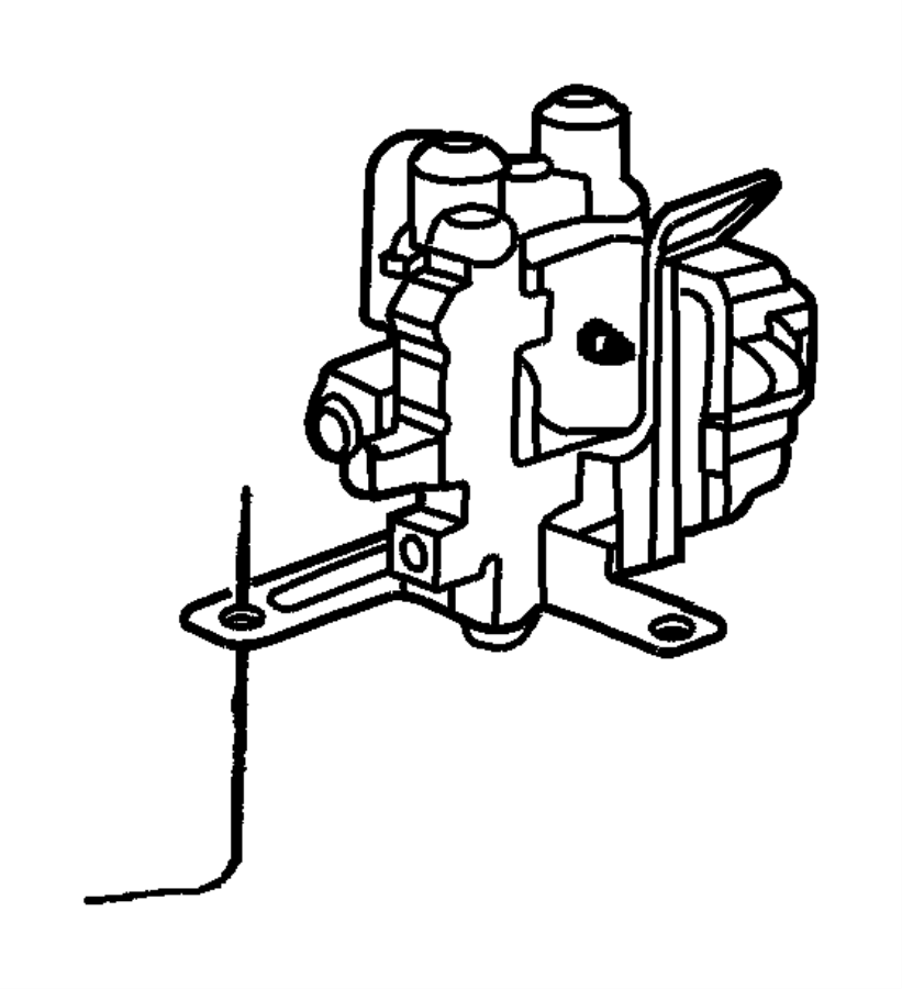 2000 dodge ram 2500 valve  proportioning  antilockgvw