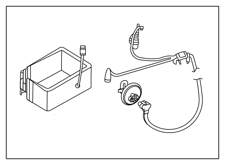 chrysler sebring engine block heaters  heater kit  engine and battery  2 7l  2 7l engine