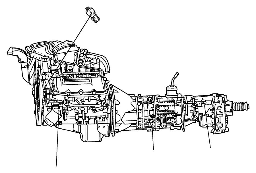 56041335ab - Dodge Switch  Power Steering  Power Steering Pressure   Steering