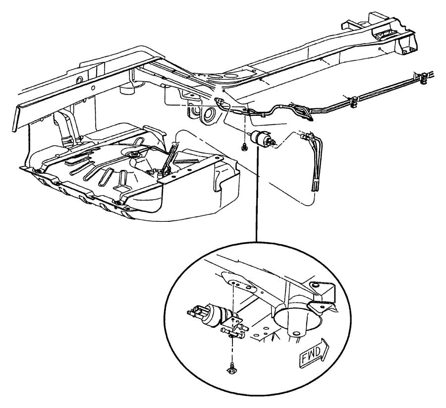 52100429ab chrysler tube fuel gallonskid evc evaevc. Black Bedroom Furniture Sets. Home Design Ideas