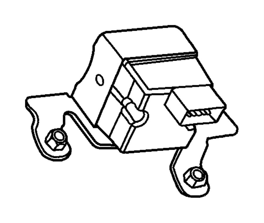 2002 dodge ram 2500 module  anti