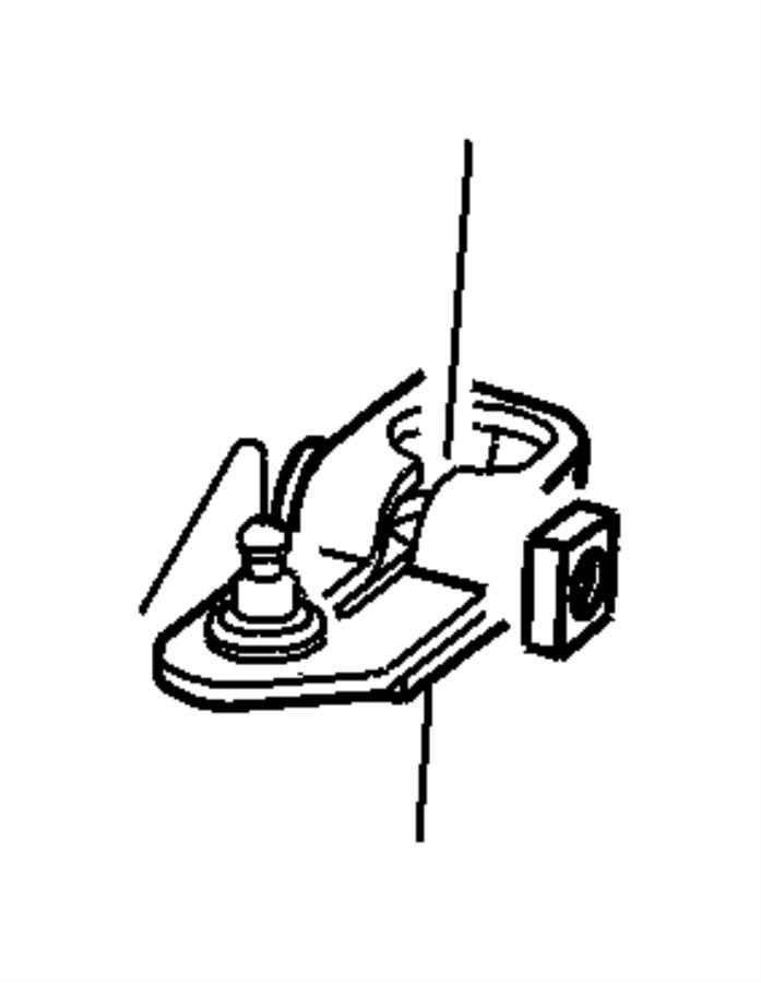 52107678ab Chrysler Lever Manual Control Dgh Factory