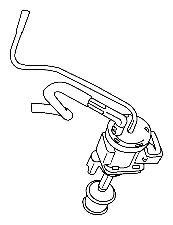 Chrysler Pt Cruiser Solenoid  Vacuum  Swirl  Wastegate