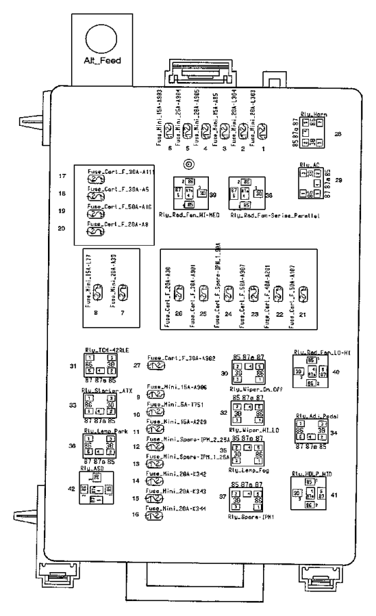 Dodge Magnum Module Front Control 05026021ae Factory