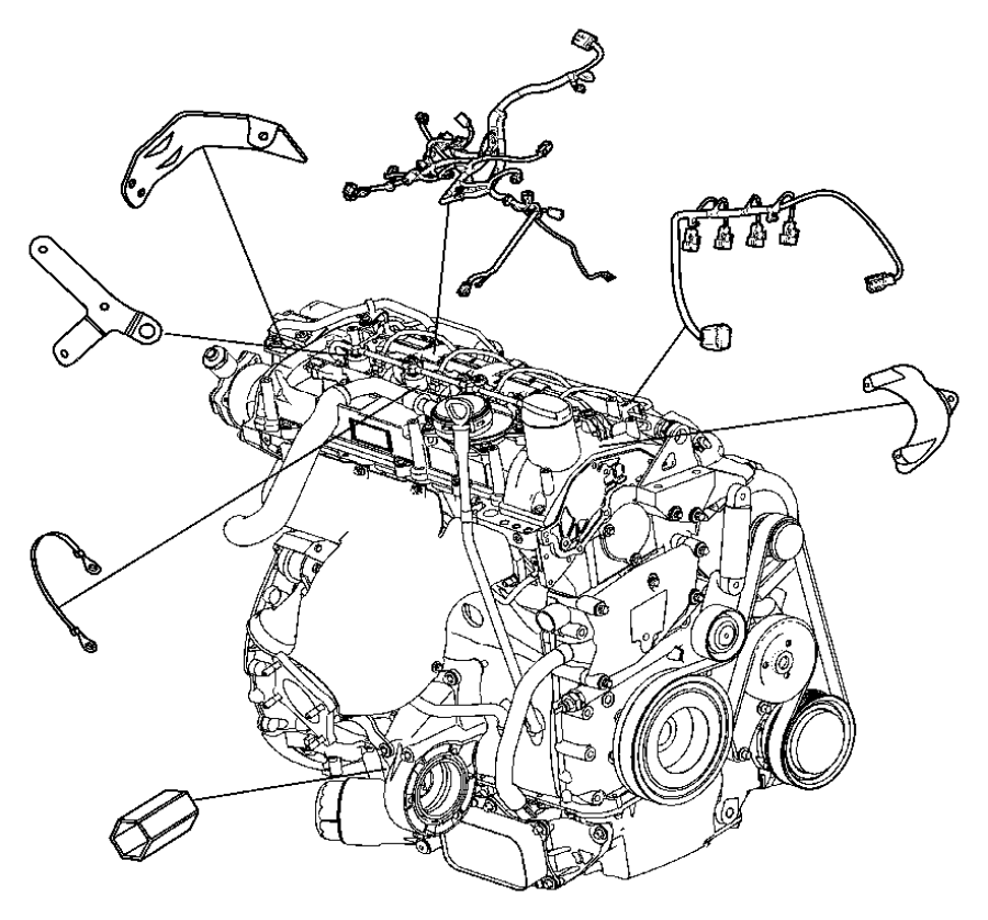 chrysler pt cruiser wiring  injector
