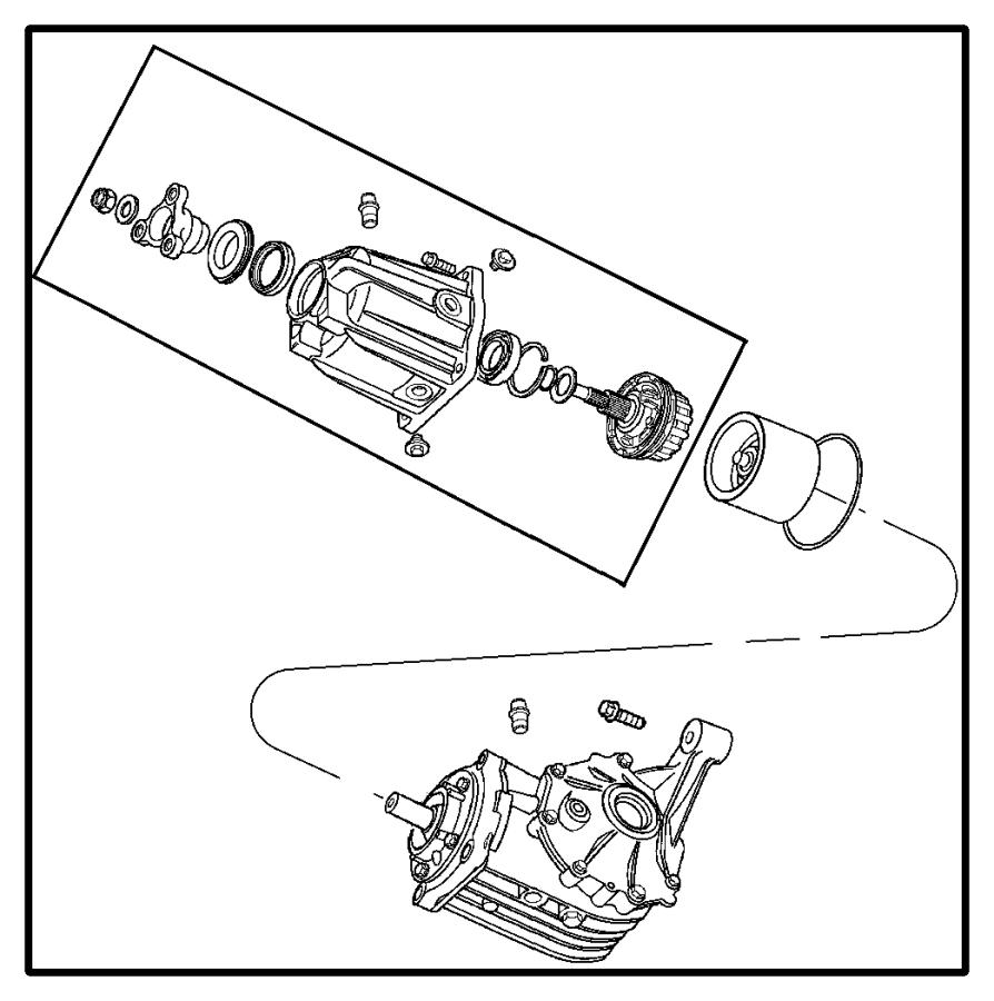 05110008ad  viscous unit kit  rear axle