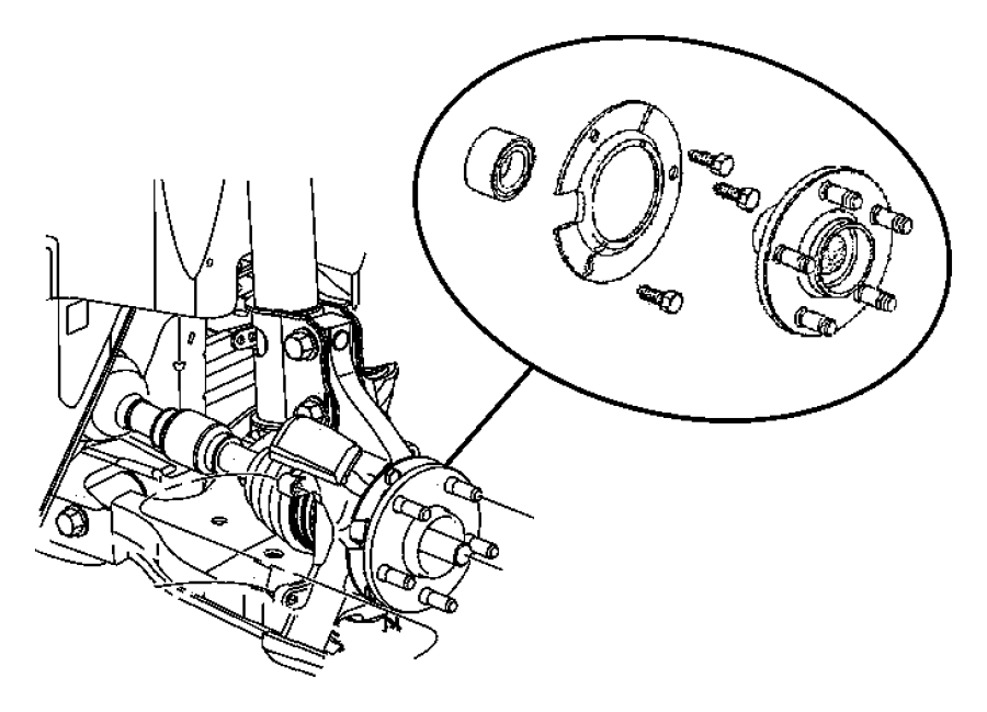 I on Pt Cruiser Front Bearing Diagram