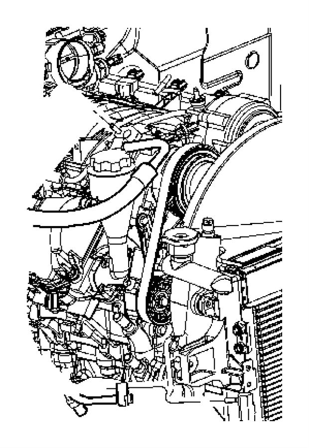 Dodge Ram 2500 Valve  A  C Pressure Transducer