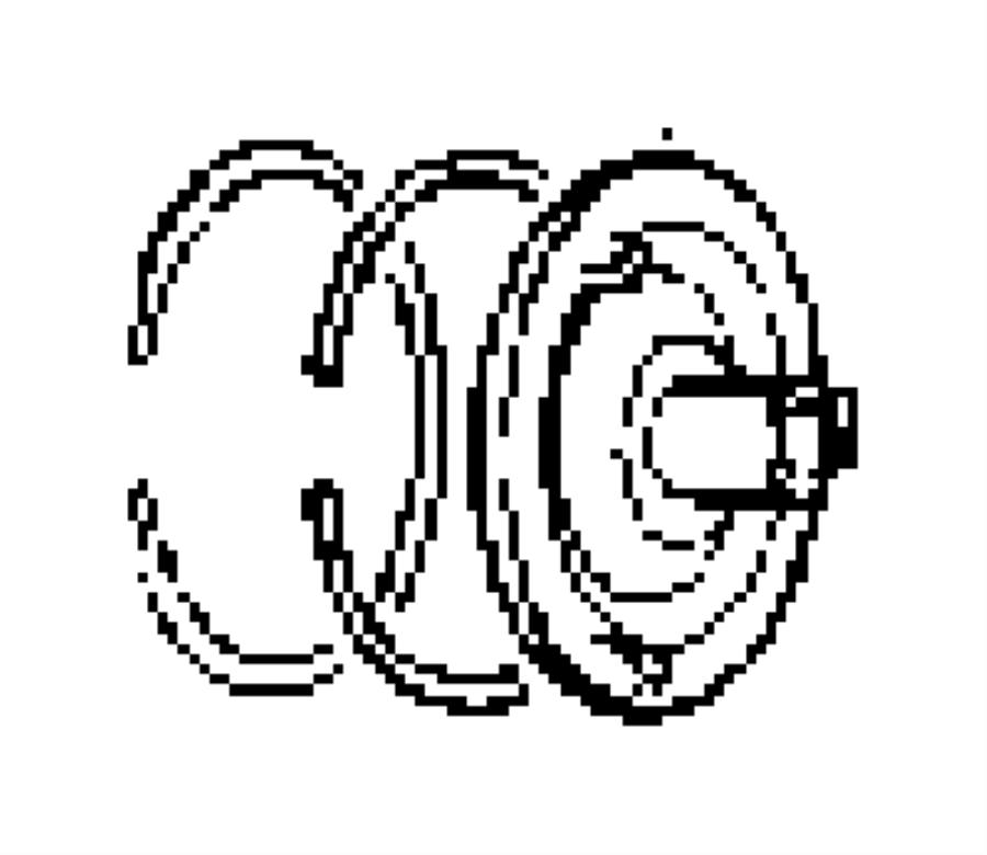 dodge 727 transmission diagram 44re parts diagram: 03410332 - guide   kickdown servo  btnd