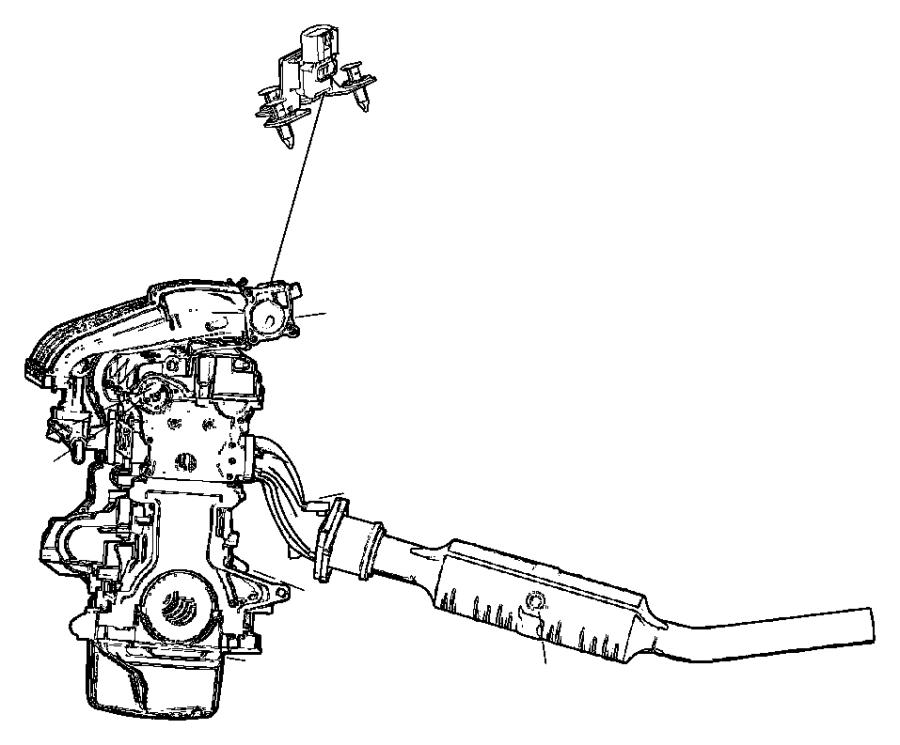 Chrysler Crossfire Sensor  Throttle Position  Ejdedzedtedv