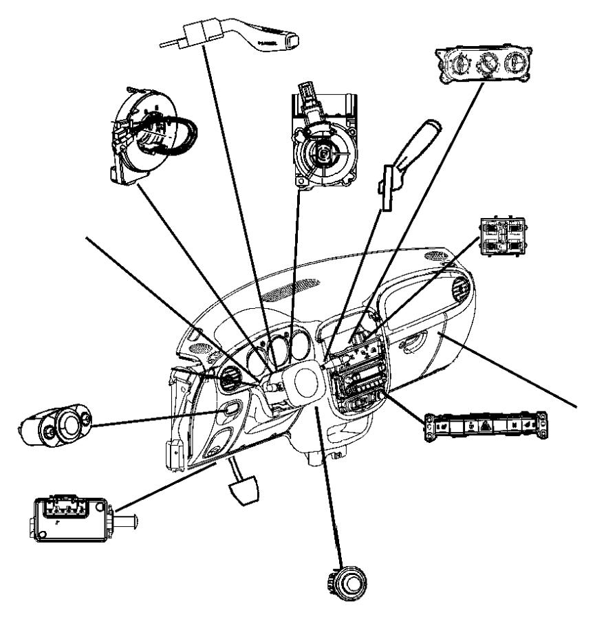 chrysler pacifica switch  ignition  trim    o0    brakepark  columnthatcham