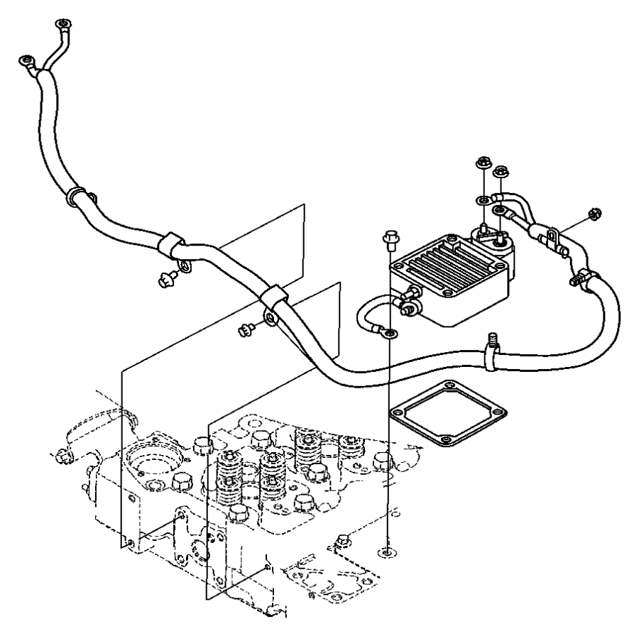 Dodge Ram 2500 Wiring  Air Intake Heater  Pch