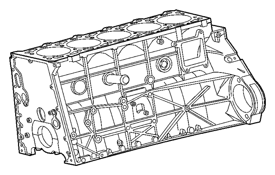 82209533 Chrysler Engine Block Heaters Heater Engine
