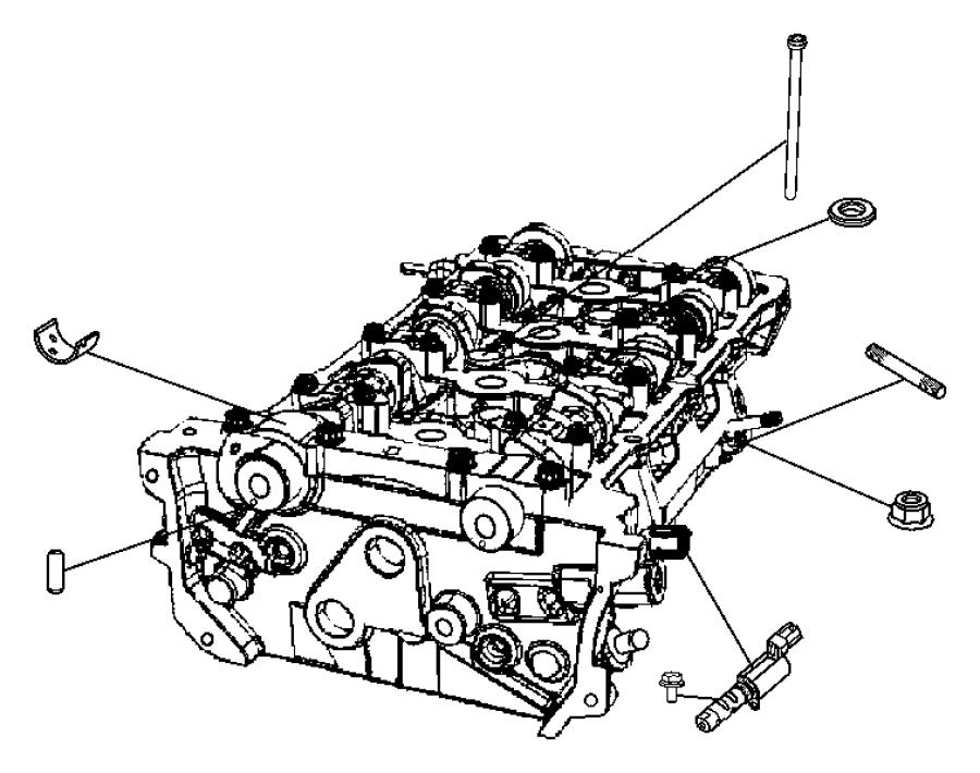 Chrysler 200 Control Valve  Solenoid  Oil Intake  Variable