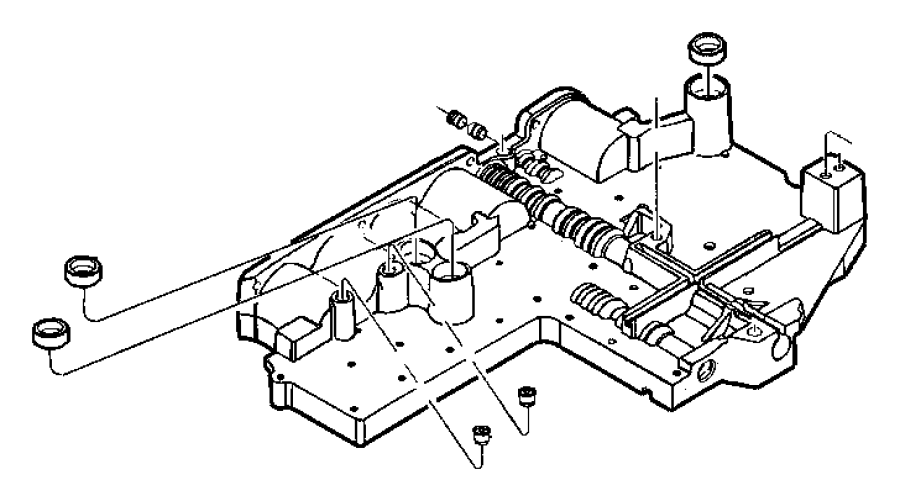 A518 Valve Body Diagram