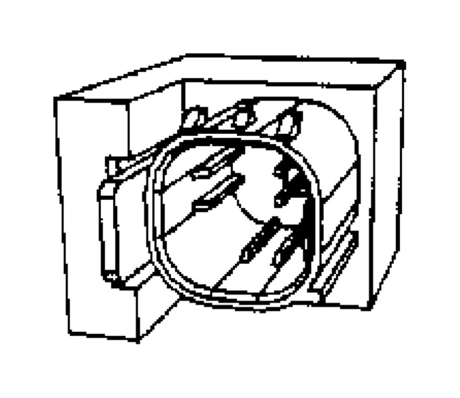 05084007aj Chrysler Sensor Strain Gauge Trim Z5