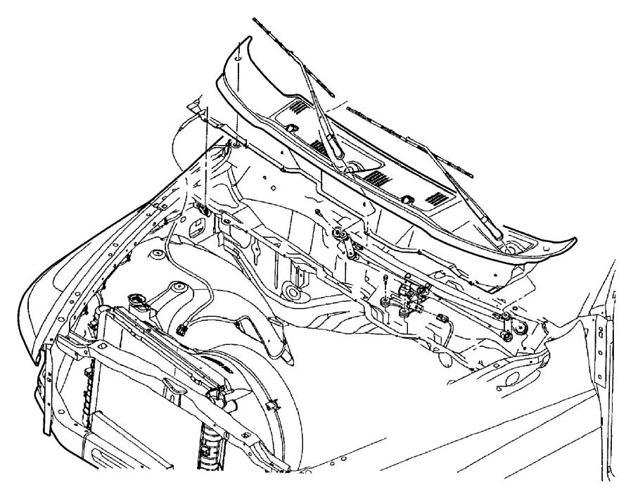 55077098AL - Dodge Module. Wiper. Wipermand   Factory ...