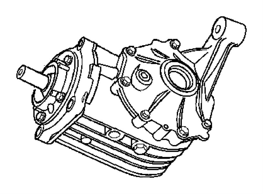 2007 chrysler pacifica bushing  axle mount  rear  contains