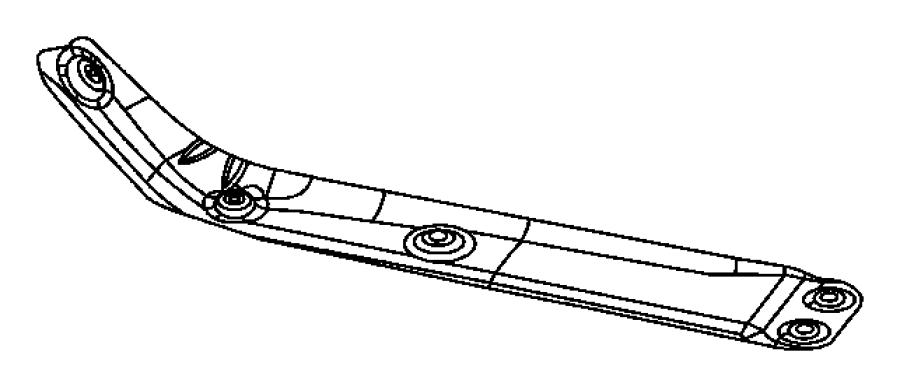 2004 dodge ram 1500 shield  exhaust manifold  mounting