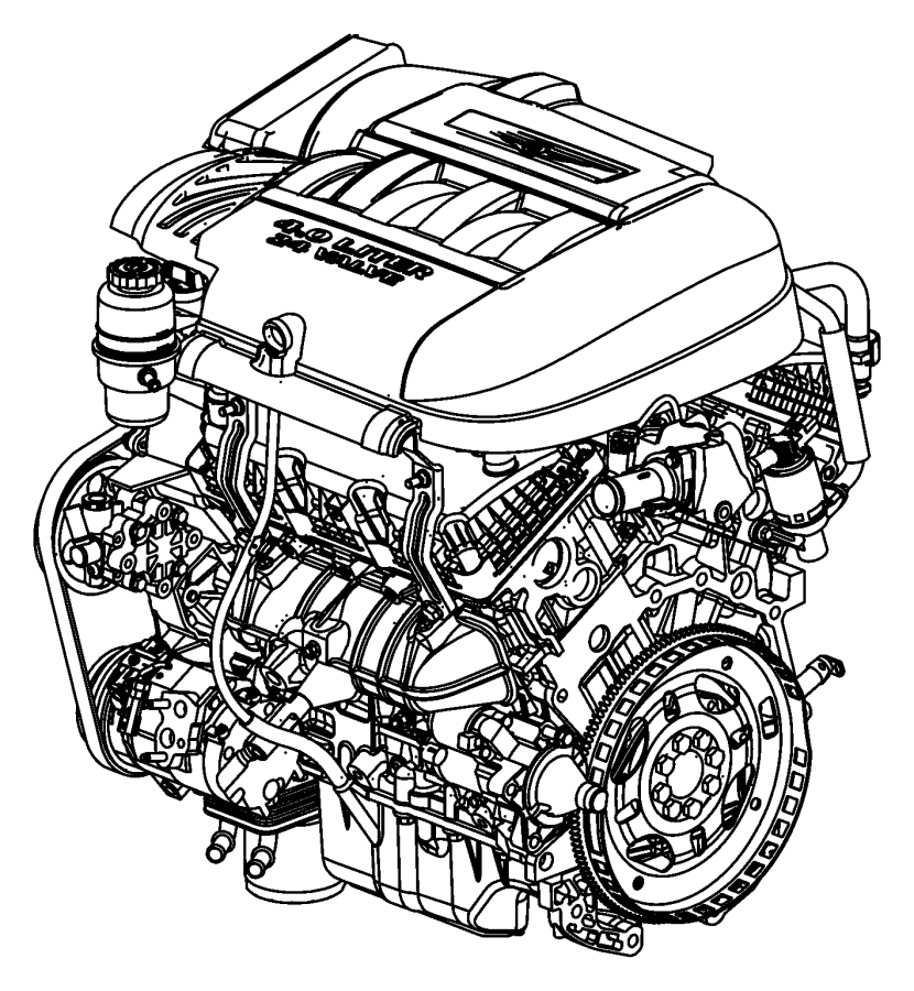 Sel Engine Flex Plate