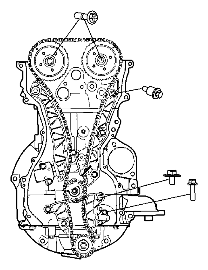 Jeep Compass Used For  Chain And Gear Kit  Engine Timing