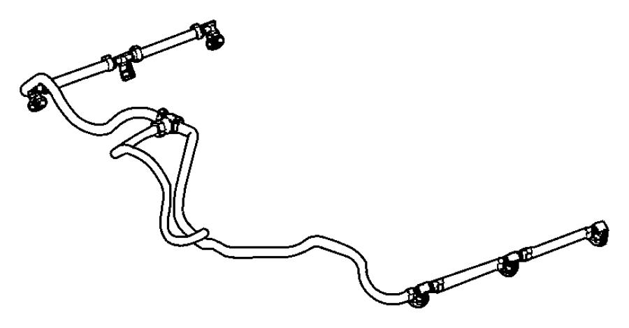 2008 jeep grand cherokee tube  fuel return  filterfuel