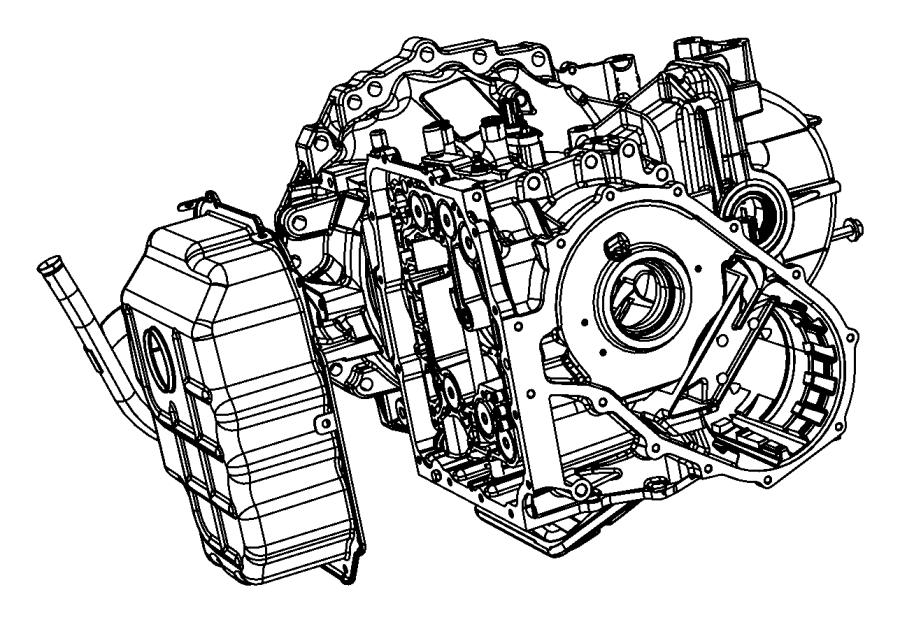 2009 Dodge Grand Caravan Cover Pan Valve Body Valve Wiring Diagram