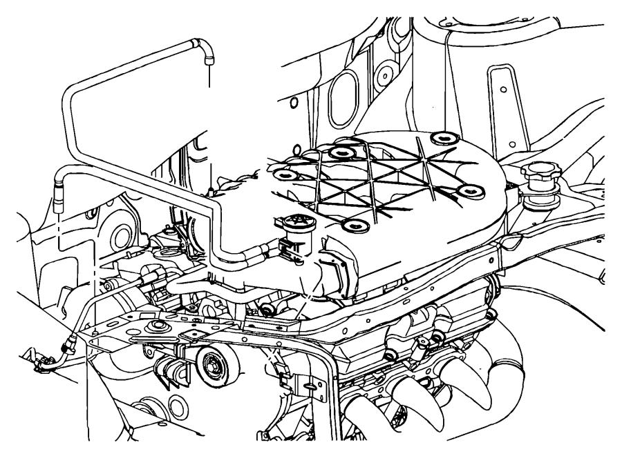 chrysler pacifica tube  vacuum